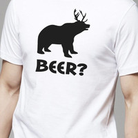 Beer Bear Deer MENS T Shirt