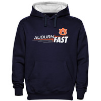 Auburn Tigers The Fast Pullover Hoodie - Navy Blue