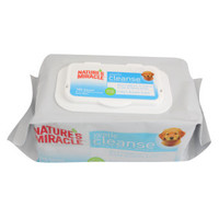NATURE'S MIRACLE™ Baby's Breath Scent Gentle Cleanse Puppy Bath Wipes