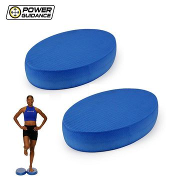 power guidance 2pcs balance pad new stability balance trainer for yoga elite exercise training non slip exercise posture soft