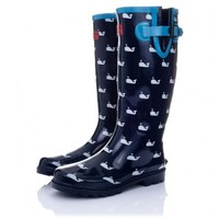 Buy ARCTIC Flat Festival Wellies Rain Boots Whale Online