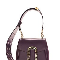 St. Marc Croc Small Top Handle - Marc Jacobs