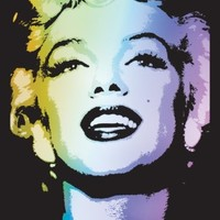 Marilyn Monroe Blacklight Photo at AllPosters.com