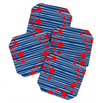Caroline Okun Spangled Coaster Set