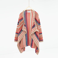 Knit cardigan - SWEATERS AND CARDIGANS-GIRL | 4-14 years-KIDS | ZARA United States