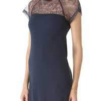 RED Valentino Jersey Dress with Lace | SHOPBOP | Use Code: EXTRA25 for 25% Off Sale Items