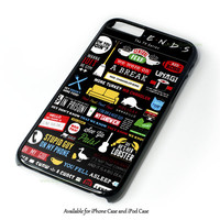 Friends Tv Show Design for iPhone and iPod Touch Case