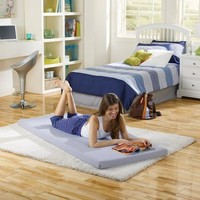 Beautysleep Siesta Twin Memory Foam Guest Bed - Walmart.com