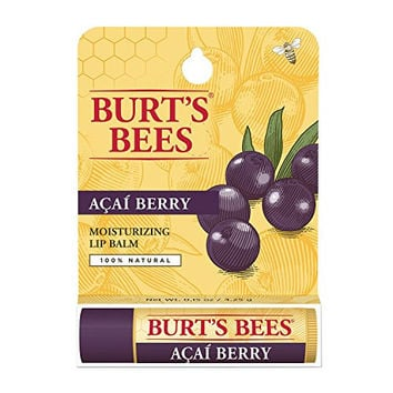 Burt's Bees Lip Balm, Acai Berry Tube, 0.15 Ounce