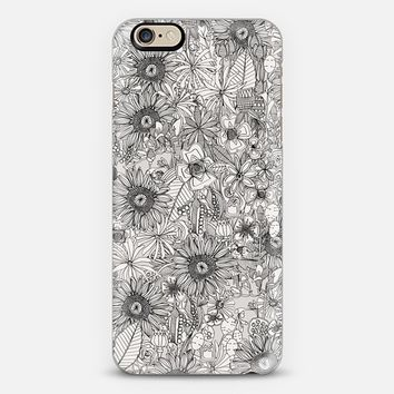 pencil flowers iPhone 6s case by Sharon Turner   Casetify