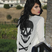 Love and Skulls Cardigan