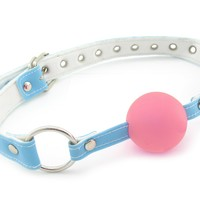 Fresh Gag, Ball, Pink/blue