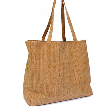 Large Cork Shopper - EcoCork
