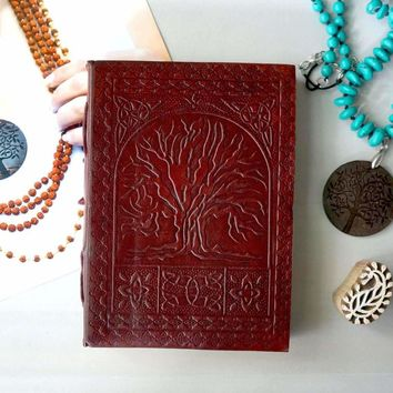 PRE ORDER Tree Of Life Handmade Leather Journal