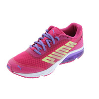 Puma Girls PowerTech Defier Mesh Athletic Shoes