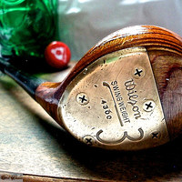 Golf Club Bottle Opener -- 1960's Sam Snead 3 Wood -- Wilson 4300