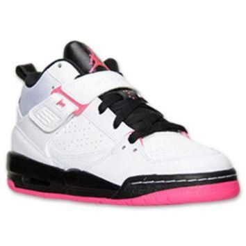 CREYUG7 Girls' Grade School Jordan Flight 45 High Basketball Shoes