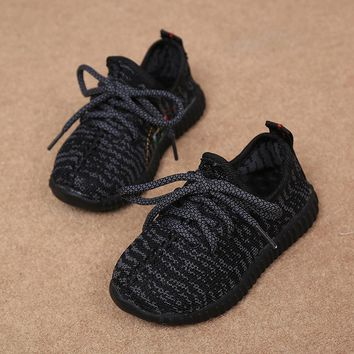 2016 Autumn Kids Fashion New Shoes Sneakers Toddler Boys Girls Breathable Mesh Sneaker