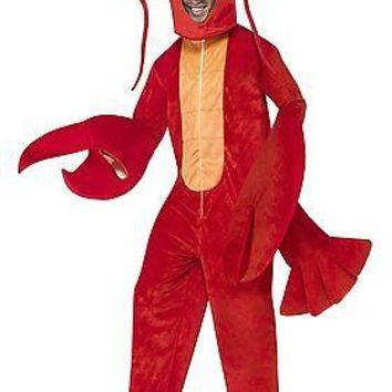 Adult Red Lobster Costume