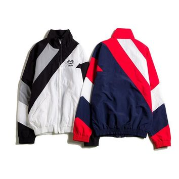 Korean Sports Jacket Hip-hop Plus Size Windbreaker [1016605179940]