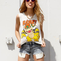 Bowser™ Rawr Muscle Tee