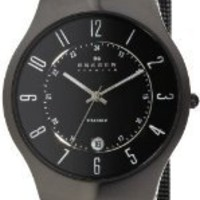 Skagen Men`s 233XLTMB Titanium Watch $79.99