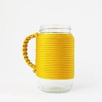 Khordz - Mason Jar Mug | Yellow