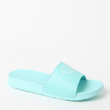 Diamond Supply Co Fairfax Diamond Blue Sandals - Mens Sandals - Blue
