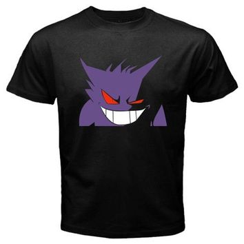 GENGAR Face Anime Cartoon Nightmare T-shirtKawaii Pokemon go  AT_89_9