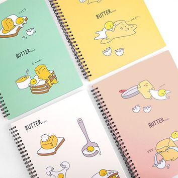 Butter Friends Notebook