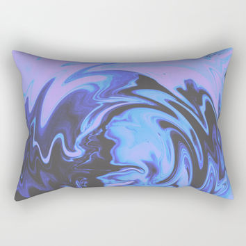 Drama Rectangular Pillow by duckyb