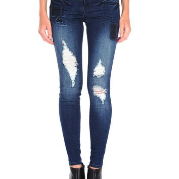 Tractr Patchwork Skinny