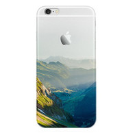 Remote Mountains iPhone 7 7Plus & iPhone se 5s 6 6 Plus Case Cover +Gift Box-89