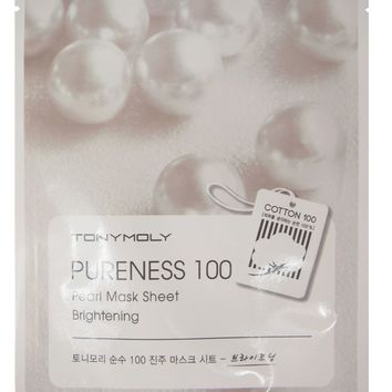 Tony Moly: Pureness 100 Pearl Mask Sheet - Brightening