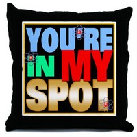 Sheldon Cooper Throw Pillow on CafePress.com