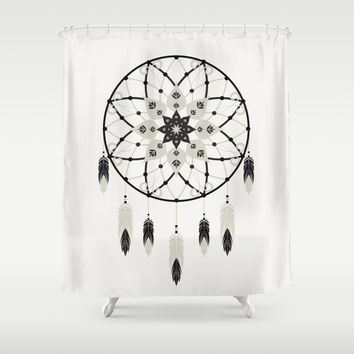 Dreamcatcher Shower Curtain by Bohemian Gypsy Jane