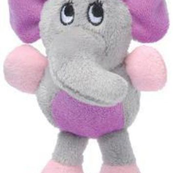 LMFYN5 Knight Pet Runtzees Rainbow Plush Gray Elephant Small Kelsey Dog Toy