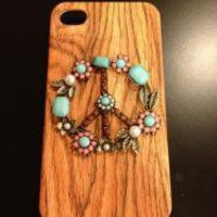 Woodstock Peace Sign Phone Case