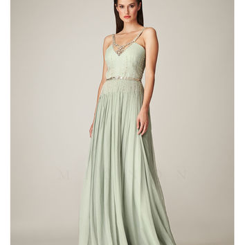 Mignon VM570 Seamist 1930s Style Grecian Beaded Elegant Dress 2015 Prom Dresses
