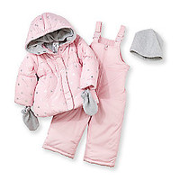 Product: Carter's® Baby Girls' Pink Snowflake Snowset