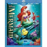 The Little Mermaid 2-Disc Combo Pack with FREE Lithograph Set Offer - Pre-Order | Disney Store