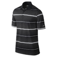 Nike Key Bold Heather Stripe Men's Golf Polo