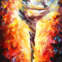 "Dance of Love — PALETTE KNIFE Figure Oil Painting On Canvas By Leonid Afremov - Size: 20"" x 30"" (50cm x 75cm) from afremov art"