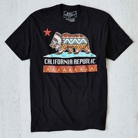 Riot Society California Republic Tee- Black