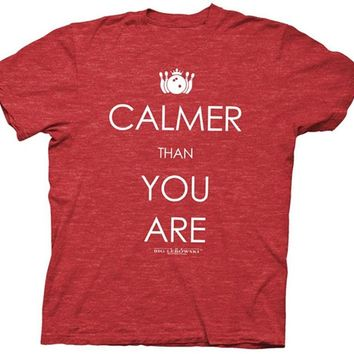 Calmer Soft Short Sleeve T Shirt