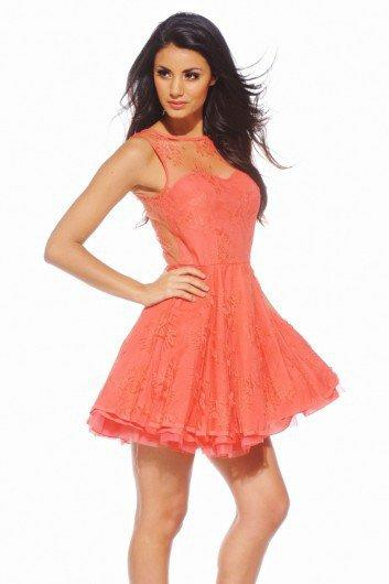 Lace Kick Out Dress