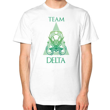 Team Delta Unisex T-Shirt (on man)