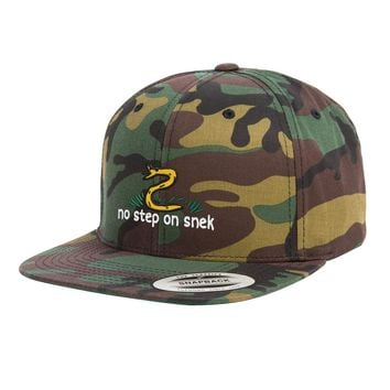 No Step On Snek Snapback Hat
