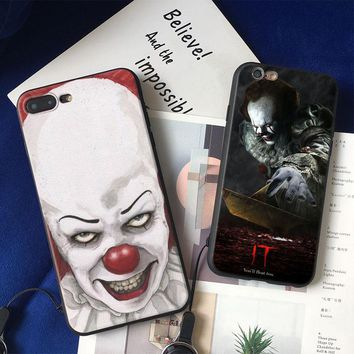 It Thriller Drama Film 2017 coque TPU soft silicone Phone Case cover Shell For Apple iPhone 5 5s Se 6 6s 7 8 Plus X XR XS MAX