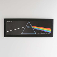 Pink Floyd Dark Side Of The Moon Framed Wall Art - Urban Outfitters